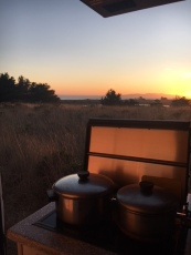 Cooking with a view